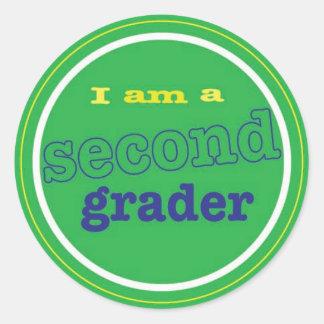 2nd grade sticker