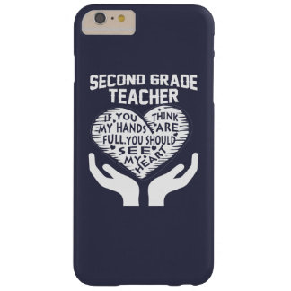 2nd Grade Teacher Barely There iPhone 6 Plus Case