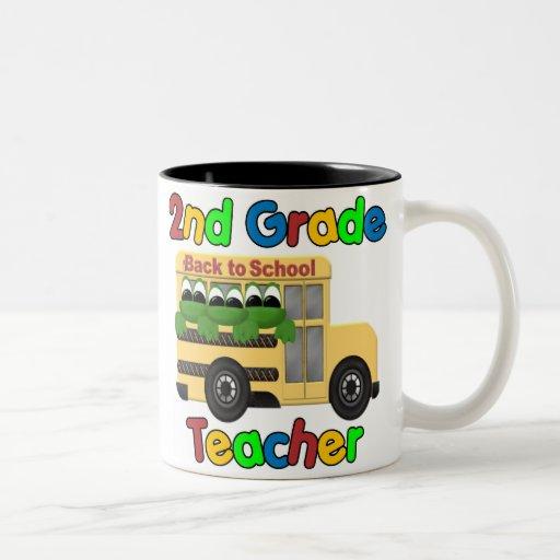 2nd Grade Teacher Coffee Mugs