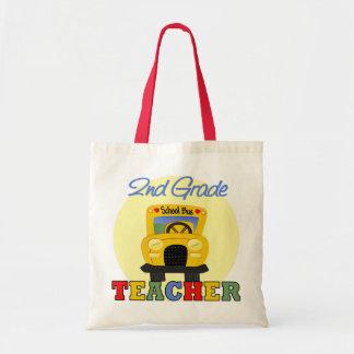 2nd Grade Teacher Gift Tote Bags