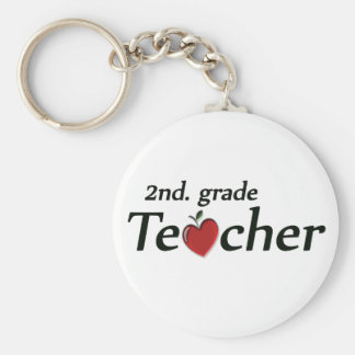 2nd. Grade Teacher Keychain