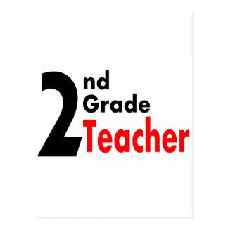 2nd Grade Teacher Postcard