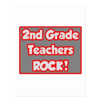 2nd Grade Teachers Rock! Postcard