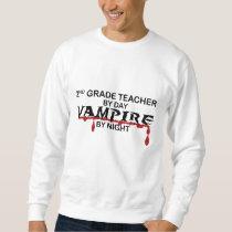 2nd Grade Vampire by Night Sweatshirt