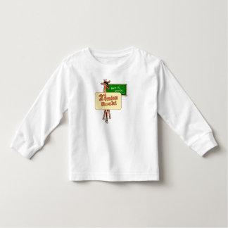 """""""2nd Graders Rock"""" Giraffe Design Toddler T-shirt"""