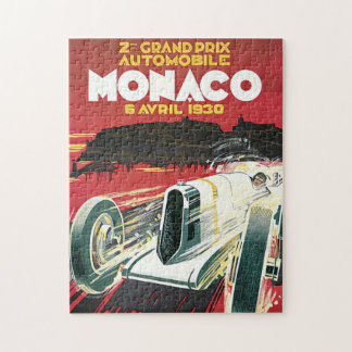 2nd Grand Prix Automobile de Monaco Jigsaw Puzzle