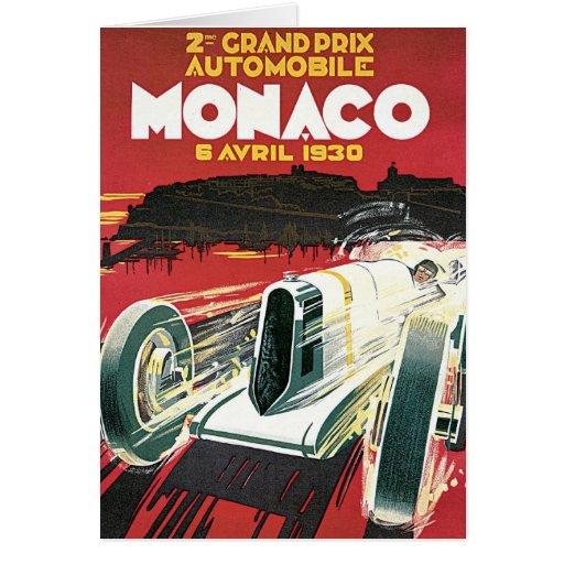2nd Grand Prix de Monaco Card