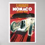2nd Grand Prix de Monaco Poster