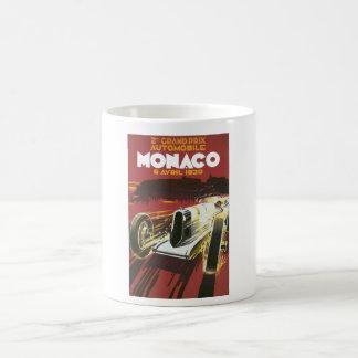 2nd Grand Prix Monaco Vintage Travel Poster Coffee Mug