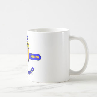 """2ND HEAVY CAVALRY DIVISION """"BUFFALO SOLDIERS"""" CLASSIC WHITE COFFEE MUG"""