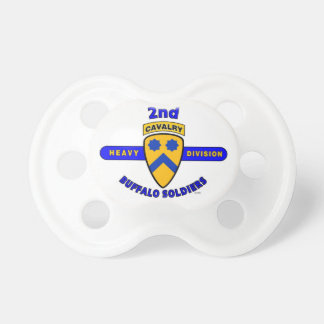 """2ND HEAVY CAVALRY DIVISION """"BUFFALO SOLDIERS"""" PACIFIERS"""