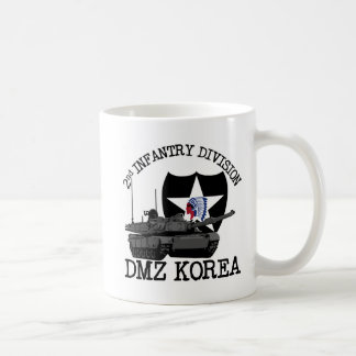 2nd ID DMZ Korea Vet Classic White Coffee Mug