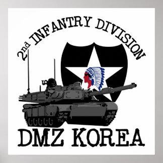 2nd ID DMZ Korea Vet Poster