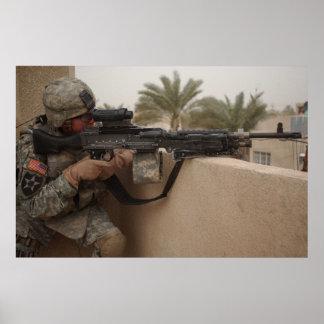 2ND ID GUNNER POSTER
