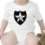 2nd Infantry Division Bodysuits