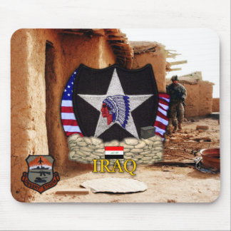 2nd infantry division gulf war vets Mousepad