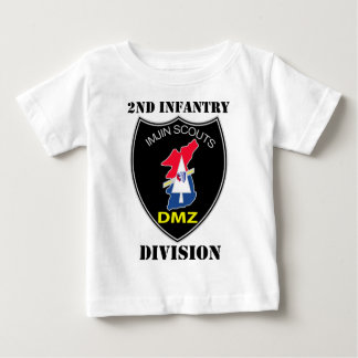 2nd Infantry Division - Imjin Scouts W/Text Baby T-Shirt