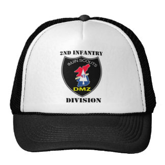 2nd Infantry Division - Imjin Scouts W/Text Hat