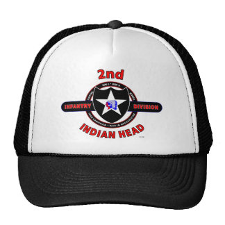 "2ND INFANTRY DIVISION ""INDIAN HEAD"" TRUCKER HAT"