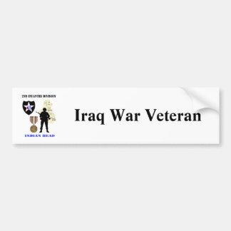 2nd Infantry Division Iraq War Vet Bumper Stickers