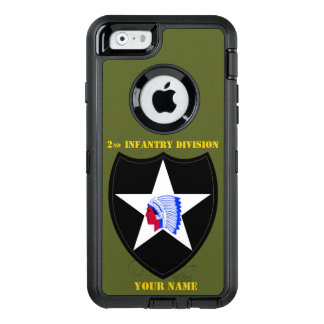 2nd INFANTRY DIVISION OtterBox Defender iPhone Case
