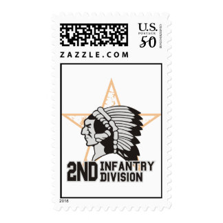 2nd Infantry Division Postage