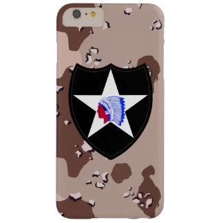 """2nd Infantry Division """"Second to None"""" Desert Camo Barely There iPhone 6 Plus Case"""