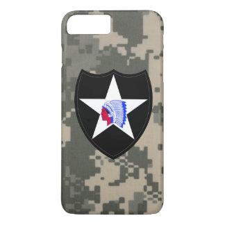 """2nd Infantry Division""""Second to None"""" Digital Camo iPhone 8 Plus/7 Plus Case"""