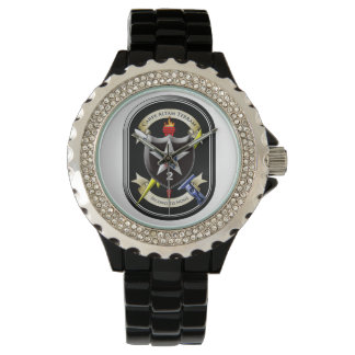 """2nd Infantry Division """"Second to None"""" Wrist Watch"""
