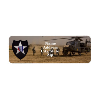 2nd infantry division vets patch labels