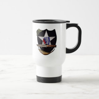 2nd infantry indianhead lrrp lrrps recon veterans travel mug