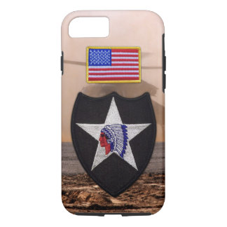 2nd infantry indianhead veterans vets patch iPhone 8/7 case
