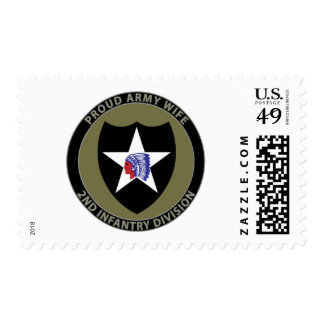 2nd Infantry Wife Stamp