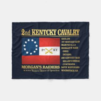 2nd Kentucky Cavalry (BA2) Fleece Blanket