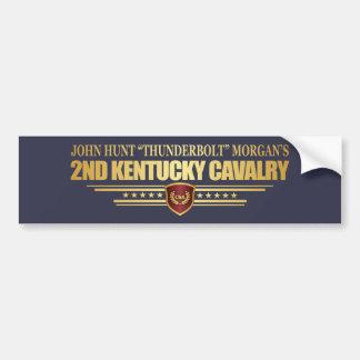 2nd Kentucky Cavalry CSA Bumper Sticker