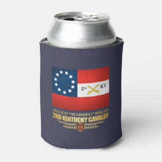 2nd Kentucky Cavalry CSA Can Cooler