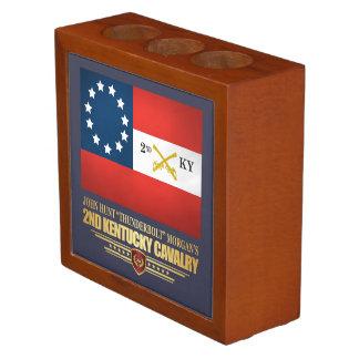 2nd Kentucky Cavalry CSA Desk Organizer