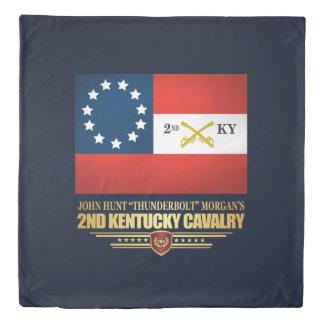 2nd Kentucky Cavalry CSA Duvet Cover