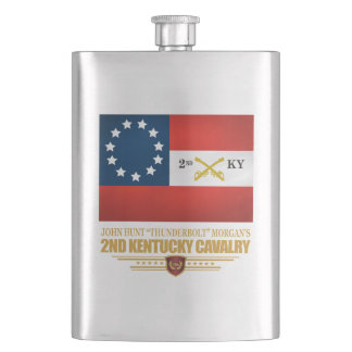 2nd Kentucky Cavalry CSA Flask