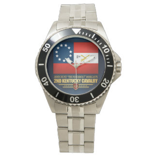 2nd Kentucky Cavalry CSA Wrist Watch