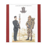 2nd King Edward VII's own Gurkha Rifles Memo Notepad