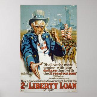 2nd Liberty Loan Print