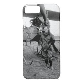 2nd Lieut. Lawrence S. Churchill_War image iPhone 8/7 Case