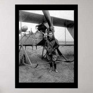 2nd Lieut. Lawrence S. Churchill_War image Poster
