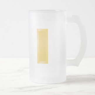 2nd Lieutenant Frosted Glass Beer Mug