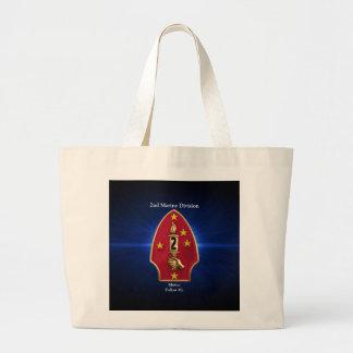 2nd Mar Div Large Tote Bag