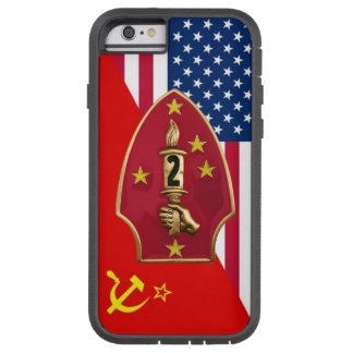 "2nd Marine Division ""Cold War Paint Scheme"" Tough Xtreme iPhone 6 Case"