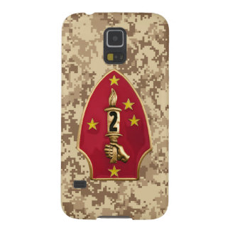 """2nd Marine Division """"The Silent Second"""" Camo Case For Galaxy S5"""