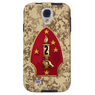 """2nd Marine Division """"The Silent Second"""" Camo Galaxy S4 Case"""