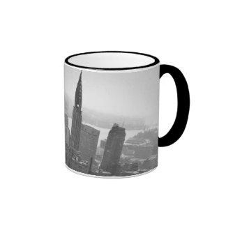 2nd May 1961:  The Chrysler building in New York Ringer Mug